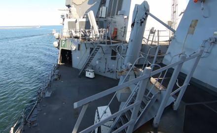 Dzisiaj można zwiedzać okręt NATO w Gdyni