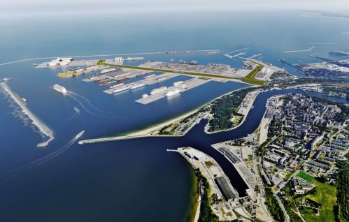 Spektakularna wizja nowego portu w Gdańsku