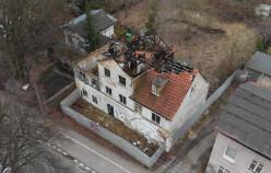 Ruiny starego domu piekarza w Oliwie