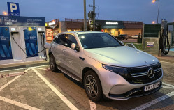 430 km w elektrycznym Mercedesie EQC