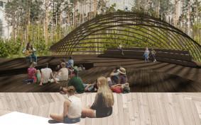 Pijalnia wód, amfiteatr leśny, zdroje - oczami studentów
