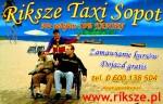 Riksze Taxi Sopot
