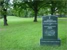 Pomnik upamiętniający teren byłego Cmentarza Ewangelickiego