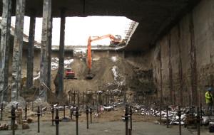 Tunel pod Martwą Wisłą. TBM prawie złożony, drążenie rusza w marcu