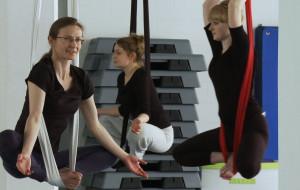 Air Joga: na przekór grawitacji