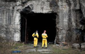 Zawalił się strop bunkra na Oksywiu