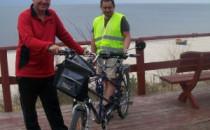 Niewidomi rowerzyści trenują przed...