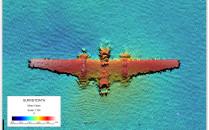 Wrak amerykańskiego samolotu bojowego na...