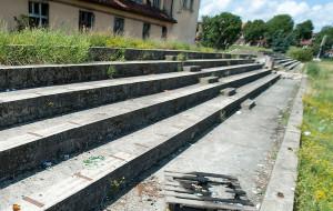 Ruiny Gedanii: płoną i zagrażają mieszkańcom