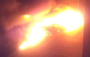 Cztery auta spłonęły nocą na Łostowicach