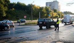 Korki na Fikakowie: policjanci pomagają czy przeszkadzają?