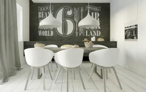 Kuchnia i salon na małej powierzchni
