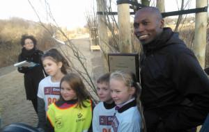 Legendarny biegacz  w Sopocie