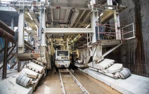 Maszyna-kret prawie gotowa do drążenia drugiej nitki pod Martwą Wisłą