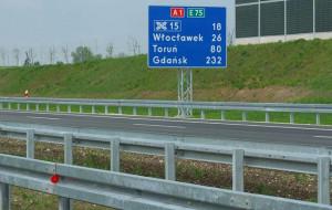 Ograniczenia na nowym odcinku autostrady A1
