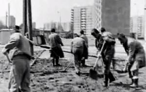 Tak w PRL-u budowano osiedle mieszkaniowe