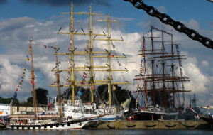 Wielkie żaglowce znów przypłyną do Gdyni