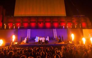 Tradycja, piękno i chaos na otwarciu Gdańskiego Teatru Szekspirowskiego