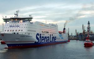 Stena Germanica będzie pływać na metanolu. Remontowa przebuduje prom