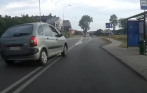 Zaczął się proces rowerzysty, który zgłosił policji wykroczenie