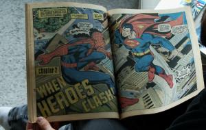 Miłość do superbohaterów i pasja do komiksów