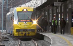 Gotowy pierwszy peron dalekobieżny na stacji we Wrzeszczu