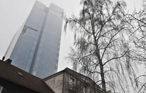 Grający wieżowiec we Wrzeszczu