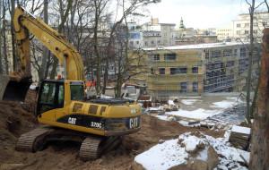 Budowa Szkoły Filmowej na ostatniej prostej