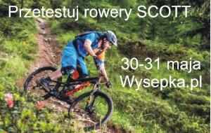 Przetestuj rowery Scott