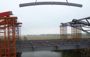 Vistal buduje wiadukt koło Elbląga