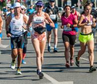 Ponad 800 śmiałków pobiegło w maratonie