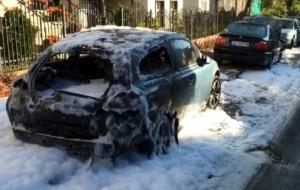 Podpalacz aut skazany na 2 lata w zawieszeniu
