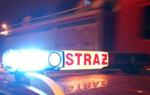 Nocny pożar samochodu na Ujeścisku. To było podpalenie