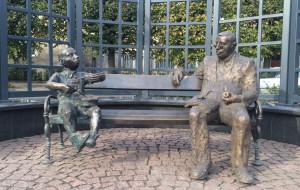Günter Grass przysiadł obok Oskara Matzeratha na pl. Wybickiego