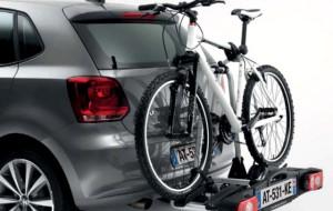 Trzecia tablica - na bagażniku rowerowym - legalna od 2016 roku