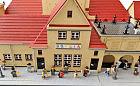 Zbudował z klocków Lego dawny gdyński dworzec