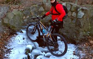 Na rowerze w temperaturze -15'C