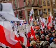 Dwie manifestacje w centrum Gdańska