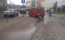 Nielegalny wjazd na parking we Wrzeszczu?
