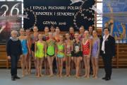 Całe podium PP dla gdyńskich gimnastyczek
