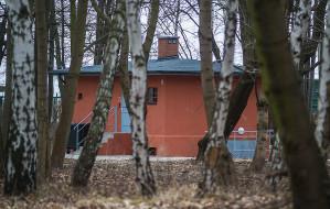 Dziwny kolor wartowni na Westerplatte