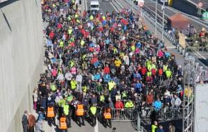 Tysiące zwiedzających na dniu otwartym tunelu pod Martwą Wisłą