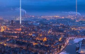 Gdańsk będzie jak Nowy Jork? W mieście pojawią się dwie świetlne wieże?
