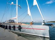 Bellkara - potężny jacht z gdańskiej stoczni Conrad