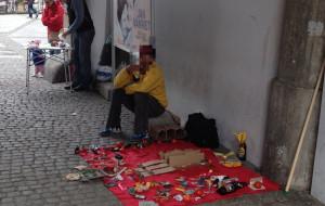 Nielegalny handel szpeci ulice śródmieścia
