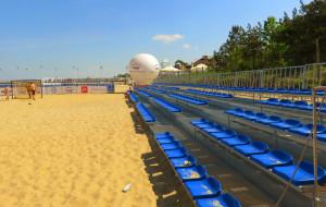 Plażowy stadion w Brzeźnie znów otwarty