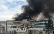 W Gdyni spłonął magazyn z chemikaliami