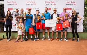70 tenisistów amatorów zagrało w Gdańsku