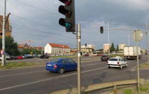 Nowe światła na Podwalu Przedmiejskim nie utrudniają ruchu