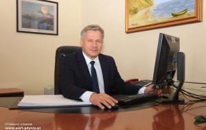 Wiceprezes TZ  SKOK pokieruje gdyńskim portem